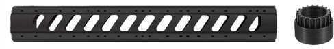 Advanced Technology IntlAR-15 Aluminum 6 Side 15 Free Float Forend W/Slotted Barrel Nut Md: A.5.10.1422