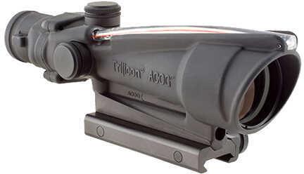 Trijicon ACOG 3.5X35mm Dual Illuminated Red Chevron, 300 Blackout Md: Ta11-C-100414