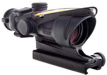 Trijicon ACOG 4X32 BAC, Dual Illuminated Amber Chevron 300 Blackout Md: Ta31-C-100412