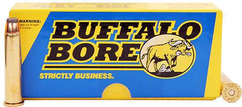 Buffalo Bore Ammunition 45-70 Low Recoil Standard Pressure 405 Grain, Jacketed Flat Nose Ammunition, 20 Rounds Per Box