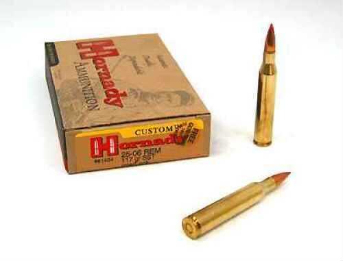 25-06 Remington By Hornady 25-06 Rem 117 Grain SST Per 20 Ammunition Md: 81454