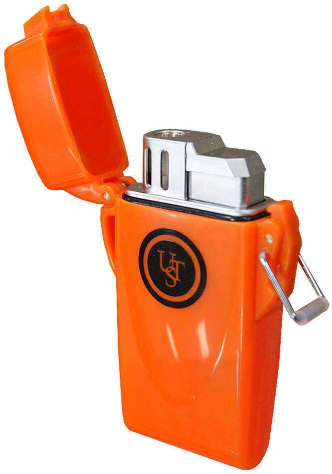 Floating FLighter (No Fuel) UST Floating Lighter UST - Ultimate Survival TechNologies 20-W10-08 Flashlight Orange