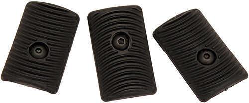 ErgoErgo Rigid Polymer EZ Mount™ KeyMod Slot Covers, 3 Pack, Black