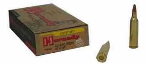 22-250 Remington Ammunition By Hornady 60 Grain SP Per 20 Md: 8039