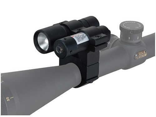 "650Nm Red Laser W/80 Lumen Flashlight 1"" Md: LLCP"