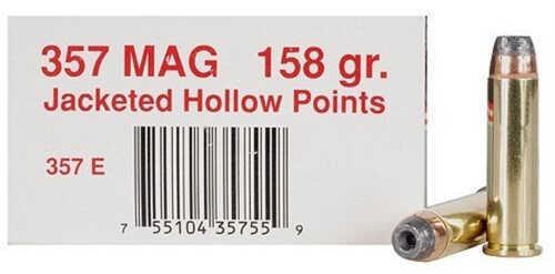 Ultramax 357 Mag 158 Grain JHP (Per 50) Md: 357E