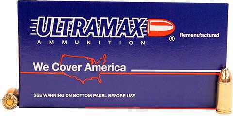 Ultramax 9mm Luger 125 Grain FMJ (Per 50) Md: 9R4