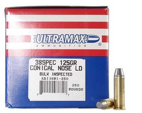 Ultramax 38 Special 125 Grain CNL (Per 250) Md: ABI38R1-250