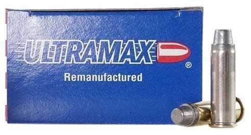 Ultramax 38 Special Remanufactured 158 Grains, Lead Semi Wadcutter,Ammunition, 250 Per Case