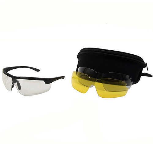 Allen Ion Ballistic Shooting Glasses 3 Lens Set Md: 22777