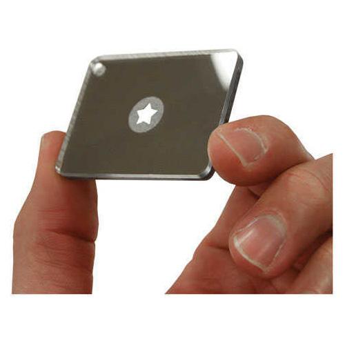 "Unbreakable, Scratch Resistant Mirror floats 1.6"" - 1.69"" Starflash Micro UST - Ultimate Survival Technologies 20-5X30-0"