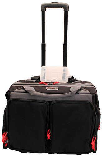 Model: Rolling Range Bag Finish/Color: Black Frame Material: Soft Size: Up to 3 Pistols Type: Range Bag Manufacturer: G-Outdoors, Inc. Model: Rolling Range Bag Mfg Number: GPS-215RB