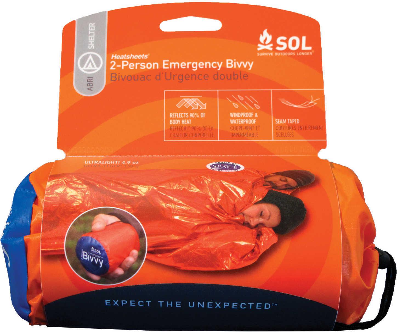 "Adventure Medical Kits 01401139 Sol Emergency Bivvy Orange 84"" X 60"" Xl"