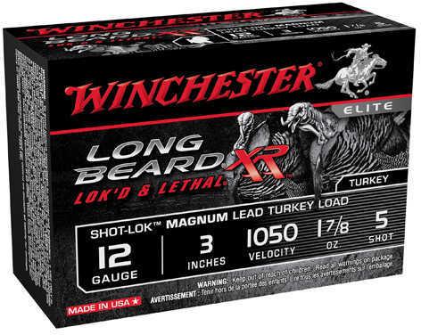 """12 Gauge Longbeard, 3"""" 1-7/8 Oz 1050 Fps 5 Shot Md: STLB123M5"""