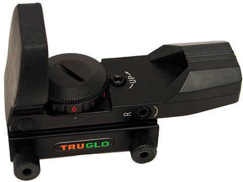 Truglo Glo Red-Dot Scope Open Dual Color Black