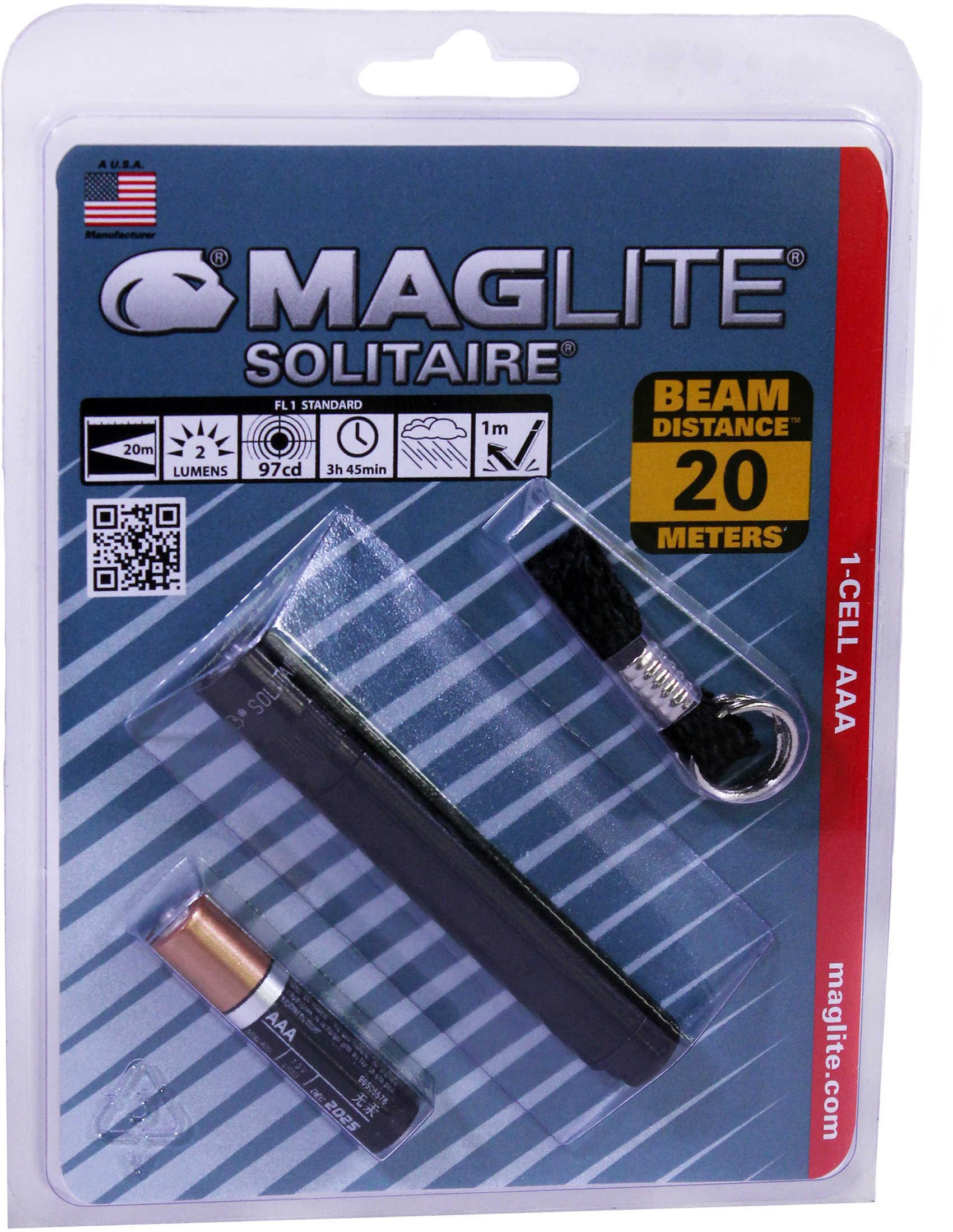 Maglite Silitaire Black K3A016