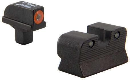 Trijicon Colt Commander HD Night Sight Set Orange Front Outline Md: CA110-C-600817
