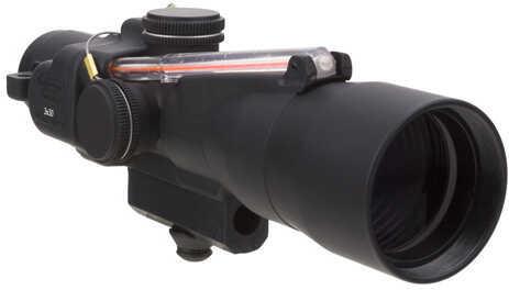 Trijicon ACOG 3X24mm Compact, Dual Illuminated Amber Crosshair .223/55 Grain Ballistic Reticle Md: Ta50-C-400223