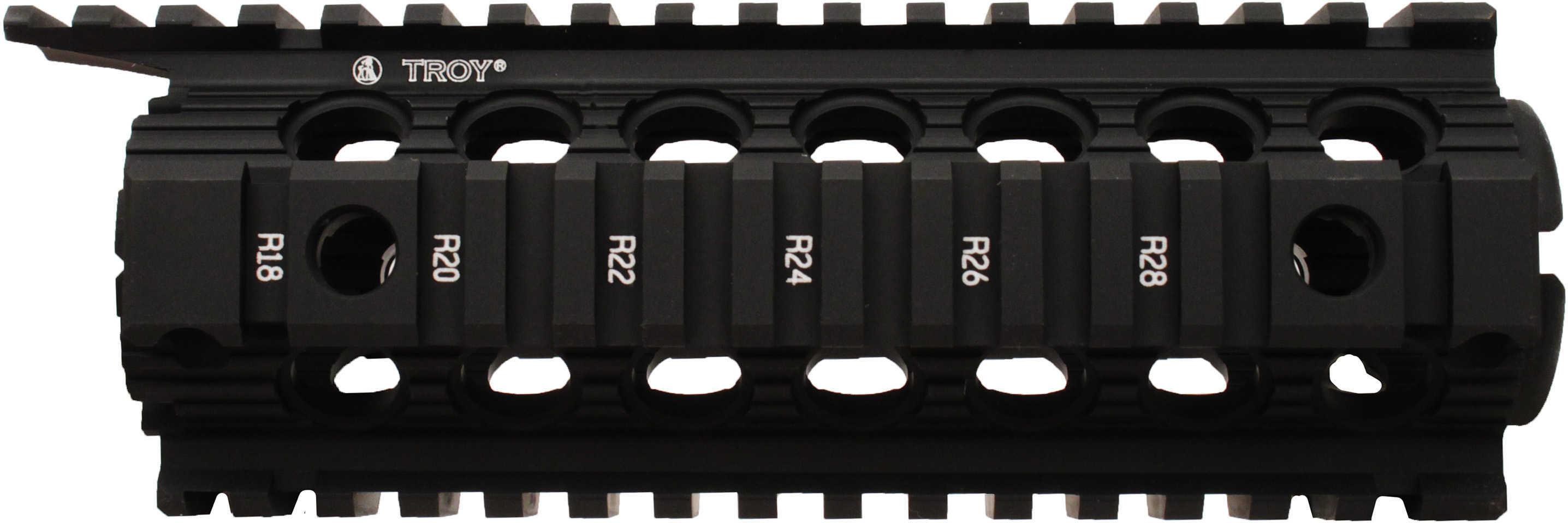 "Troy SRAIDIDD7BT 7"" Drop In Rail Carbine/M4 7"" Black"
