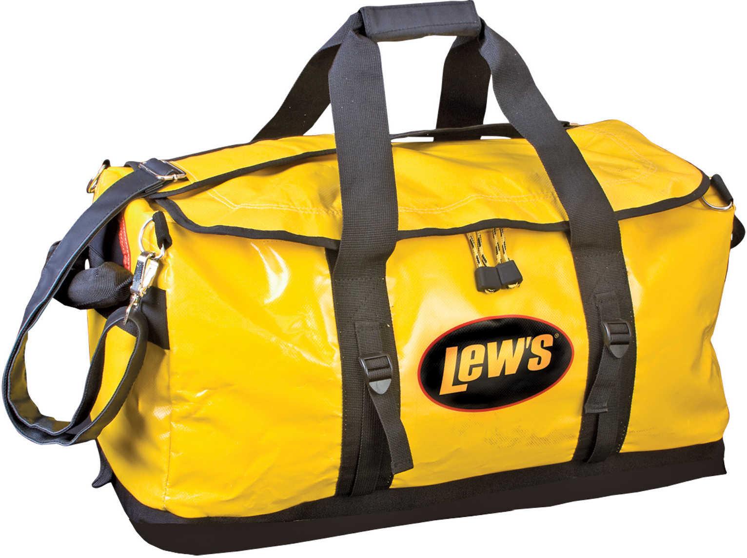 "Lew'S Speed Boat Bag, Yellow/Black, 24"" Md: B241212"