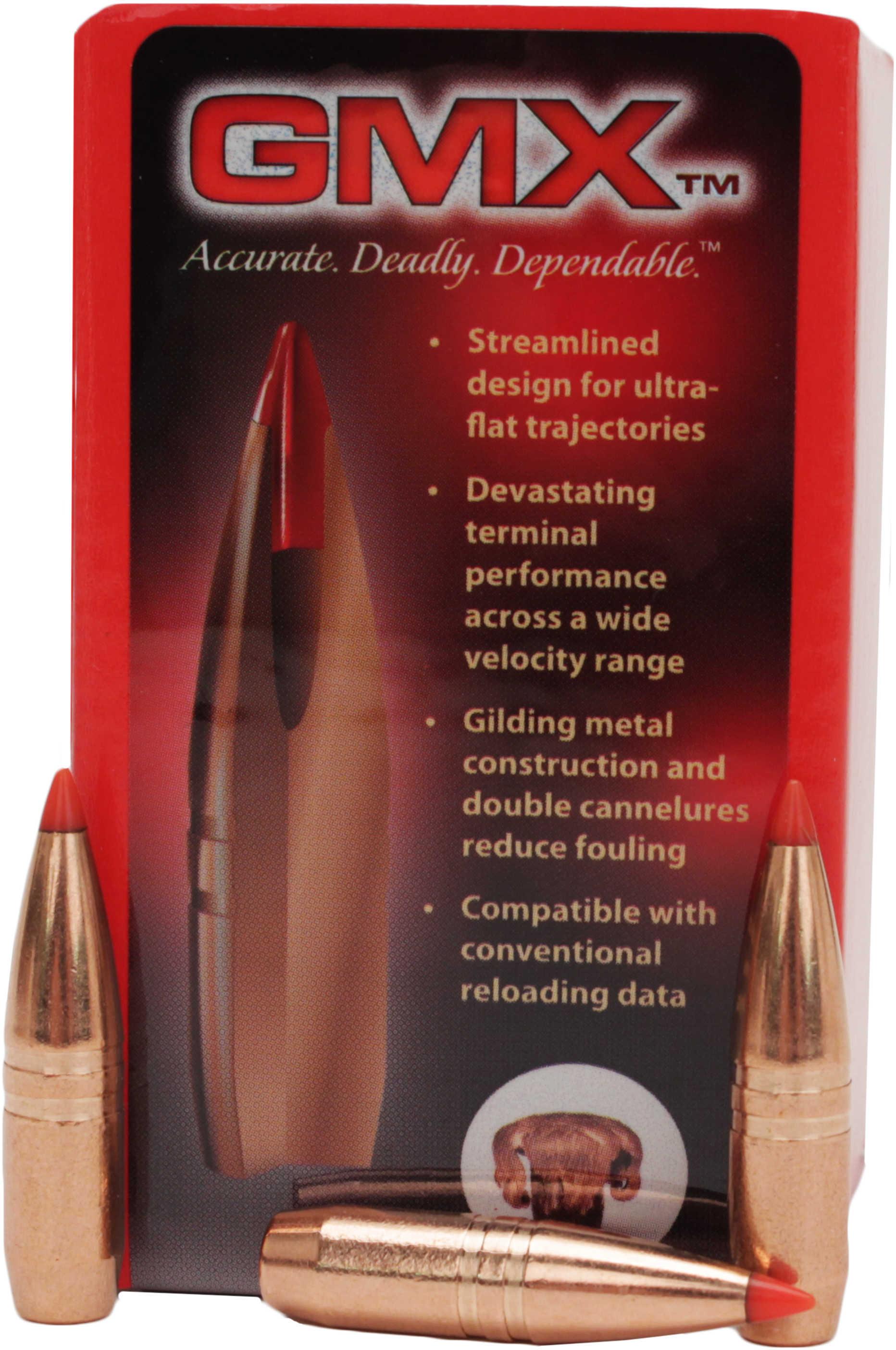 "Hornady 8mm Bullets .323"" 180  Grain GMX (Per 50) Md: 3234"