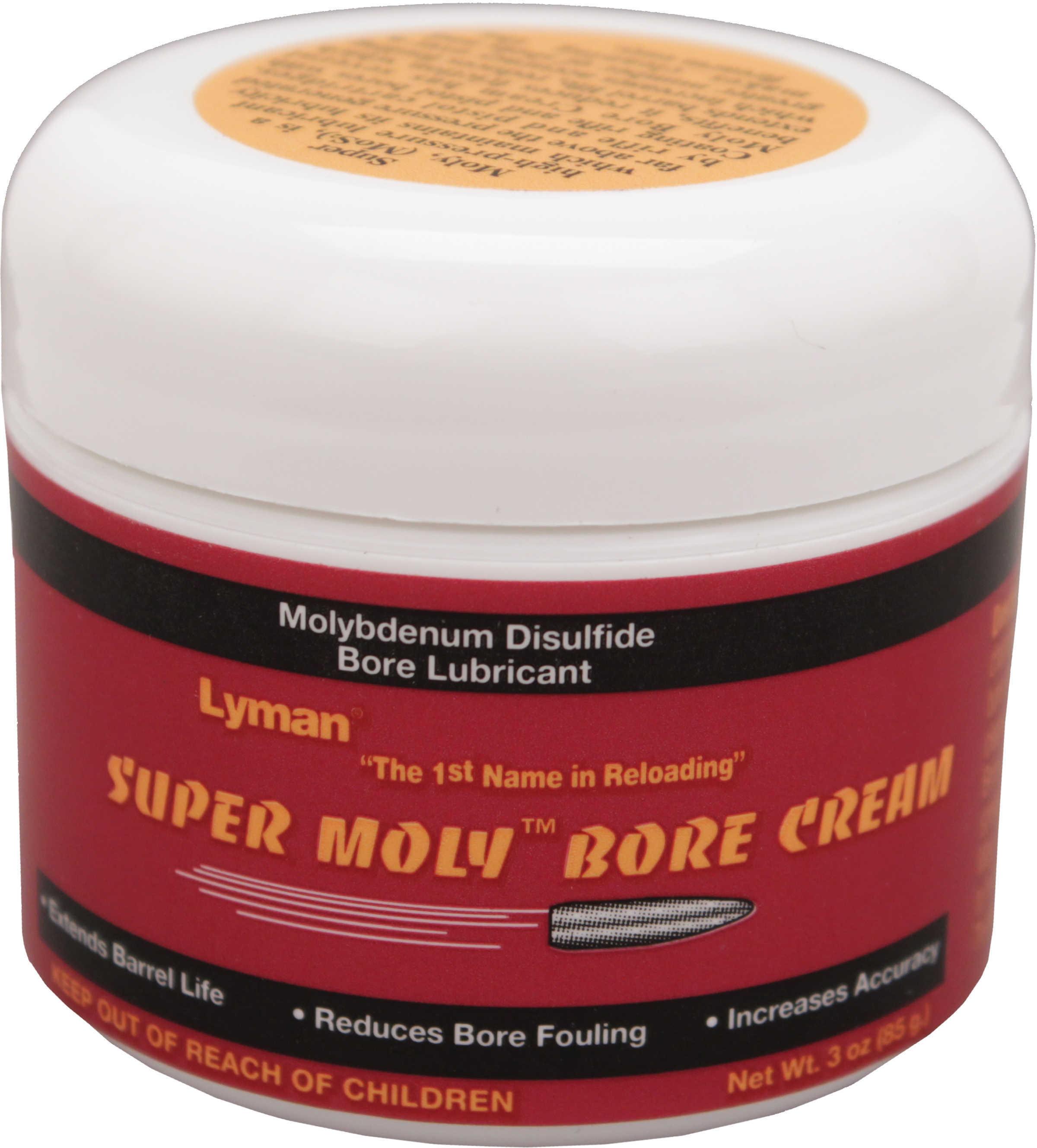 Lyman Super Moly Bore Cream 3 Oz