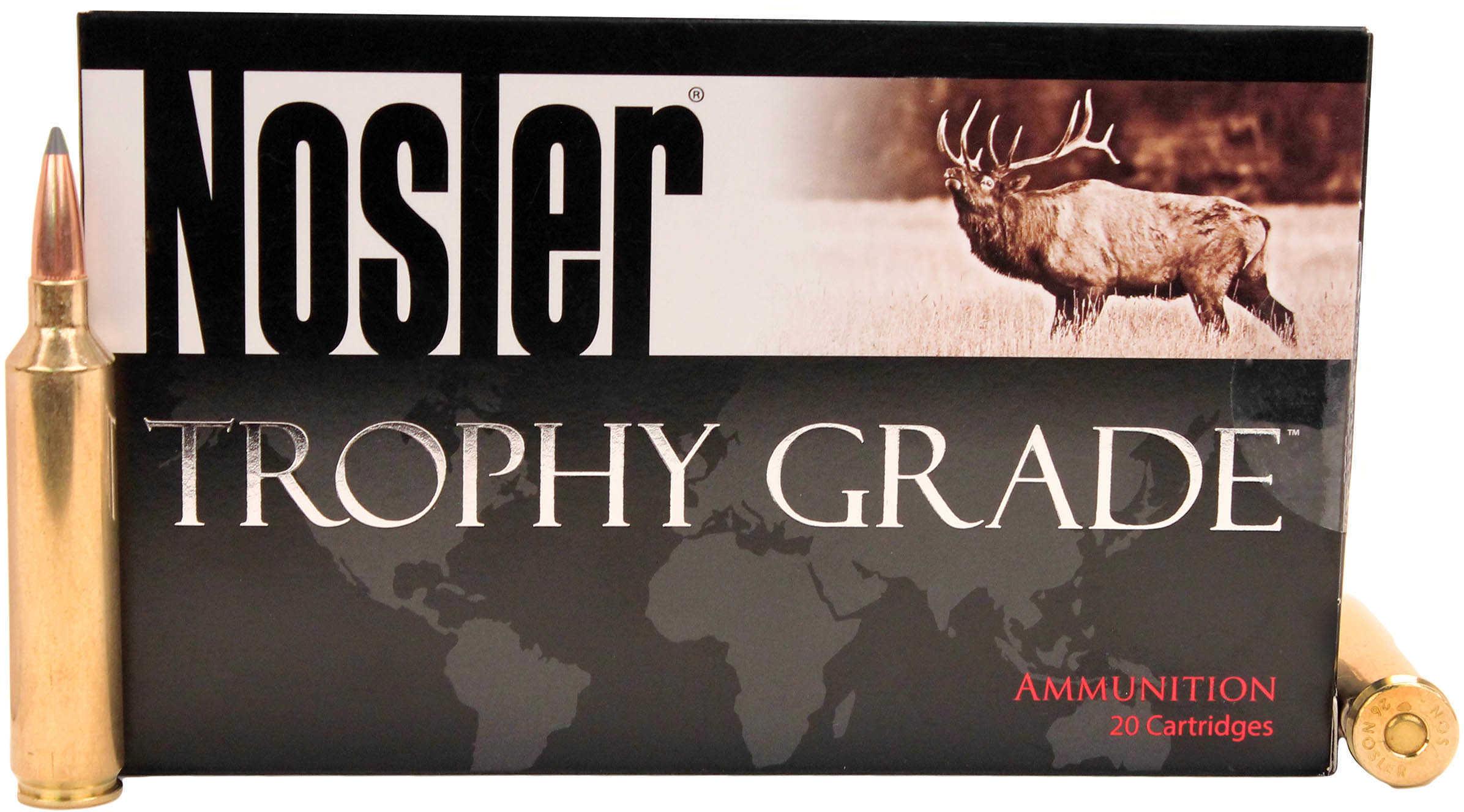 Nosler 60110 Trophy Grade Long Range 26 Nosler 129 GR AccuBond Long Range 20 Box