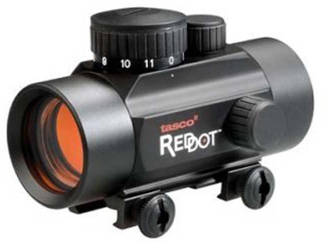 """Tasco Red Dot 1x30mm 5/8"""" Rail 38mm Tube 5 MOA Matte Finish"""