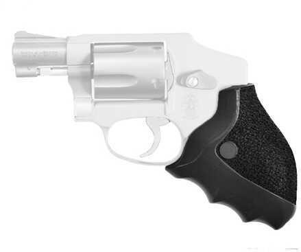 Ergo Grip Rubber Delta Grip Fits S&W J-Frame Revolvers Black Finish 4581-SWJ