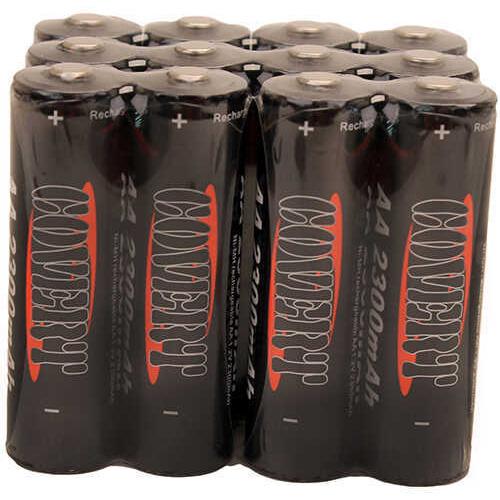 Dlc Covert Aa Batteries Aa Nimh Batteries 12Pk Model: C05113