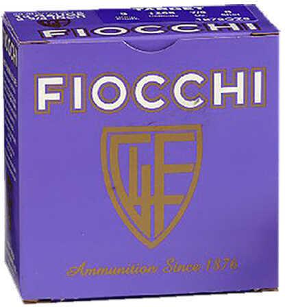 Fiocchi 12 Gauge 2.75 Inch, 7/8 Ounce #9 Shot Shotshells. 25 Rounds Per Box