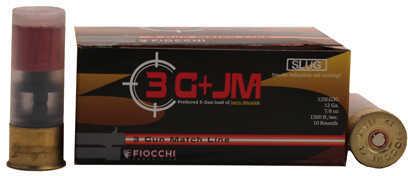 """Fiocchi Ammo 3 Gun Match, 12 Gauge 2 3/4"""", Slug, 7/8 Oz, Per 10 Md: 12SLG3G"""