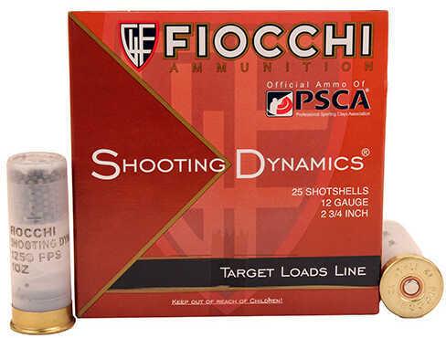 "Fiocchi Ammo Shooting Dynamics 12 Gauge - 8 Shot, 1 oz, 2.75"" (Per 25) Md: 12SD1X8"
