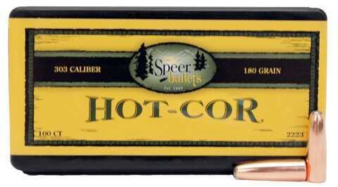 Speer 303 Caliber 180 Gr RN SP Per 100 Md: 2223 Bullets