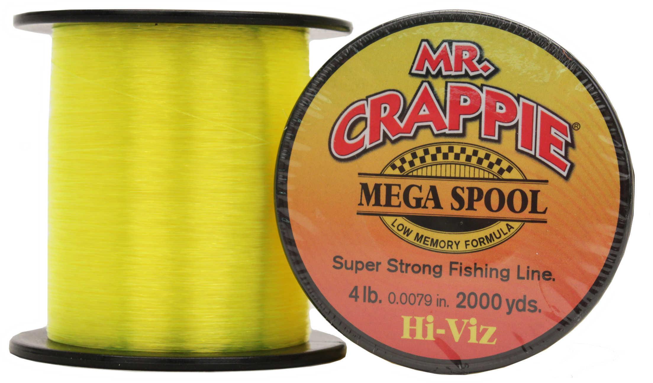 Lew's Mr Crappie Premium Line Hi-Vis 4Lb 2000Yrd
