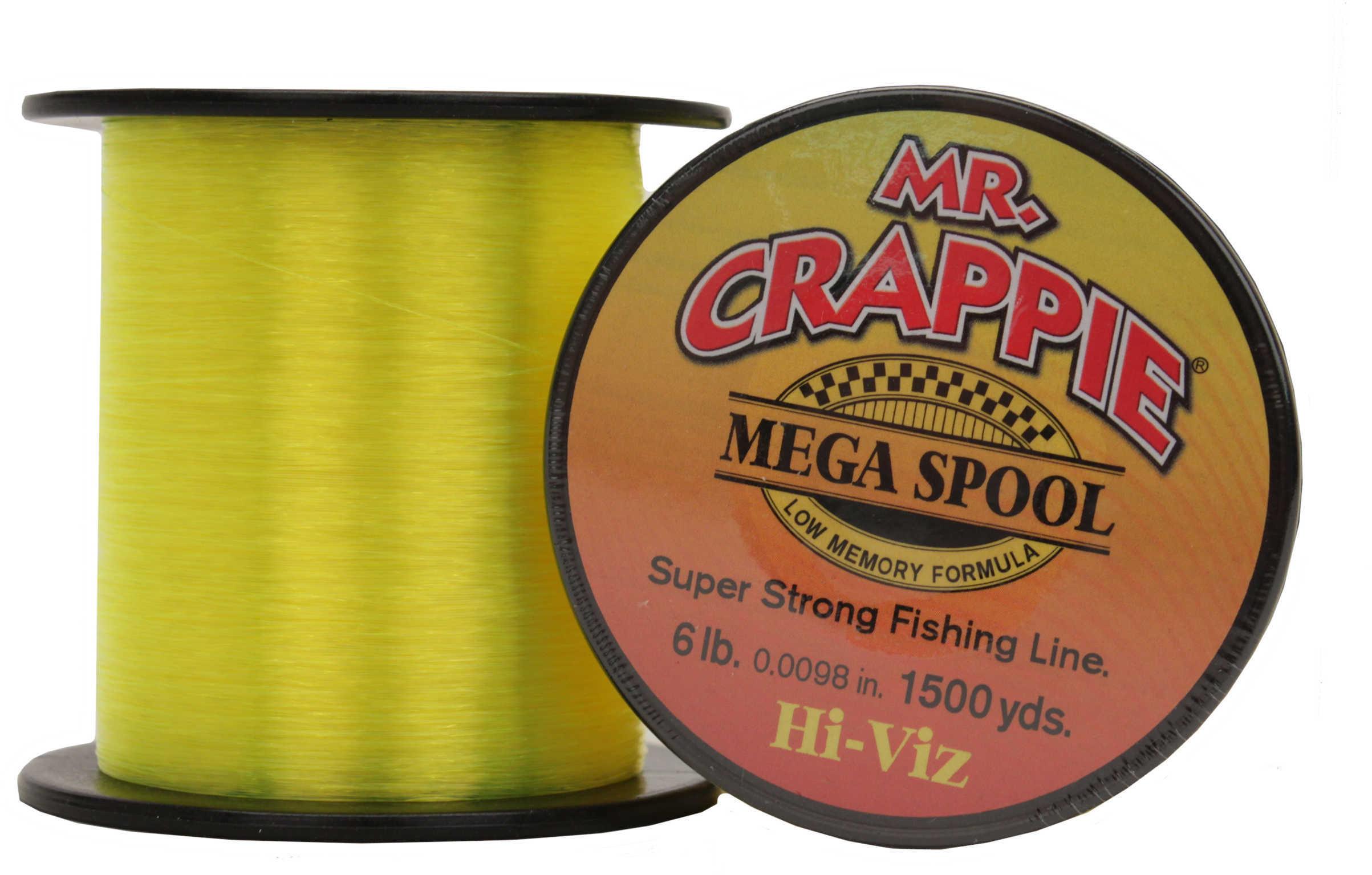 Lew's Mr Crappie Premium Line Hi-Vis 6Lb 1500Yrd