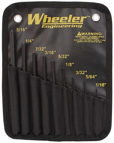 Wheeler Roll Pin Punch Set Tool 9 piece set 204513
