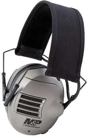 M&P Accessories 110041 Alpha Electronic Earmuff 23 dB Black/Gray