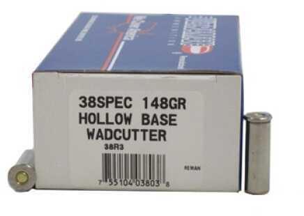 Ultramax 38 Special 148 Grains Match HB Wadcutter Ld Md: 38R3