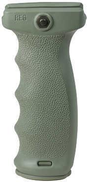 React Ergonomic Vertical Grip Foliage Green Md: REGFG