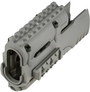 Tekko Polymer AK47 Integrated Rail System Grey Md: TP47IRSGY