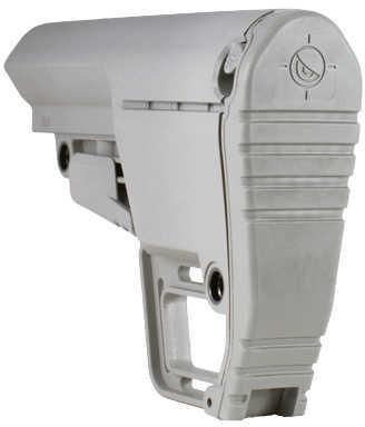 AR-15 Battlelink Utility Stock Mil-Spec Grey Md: BUSMilGY