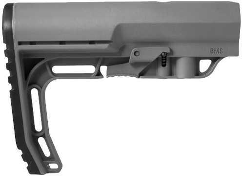 AR-15 Battlelink Minimalist Stock Commercial, Grey Md: BMSGY