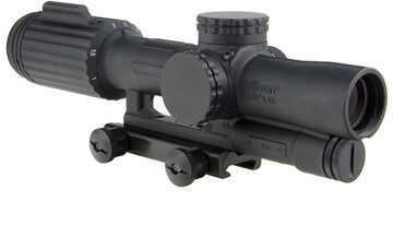 Trijicon VCOG 1-6x24mm Riflescope Green Segmented Circle/Crosshair .223/77 Grain Ballistic Reticle, Black Md: VC16-C-160
