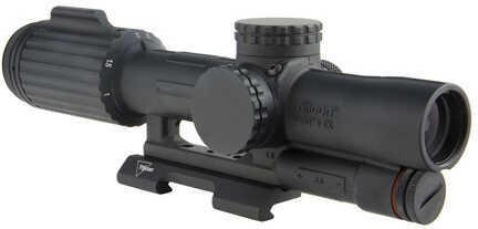 Trijicon VCOG 1-6x24mm Riflescope Green Segmented Circle/Crosshair .223/55 Grain Ballistic Reticle, Black Md: VC16-C-160