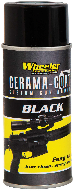 Wheeler Cerama-Coat Firearm Finish Restoration 4oz Aerosol Black 468993