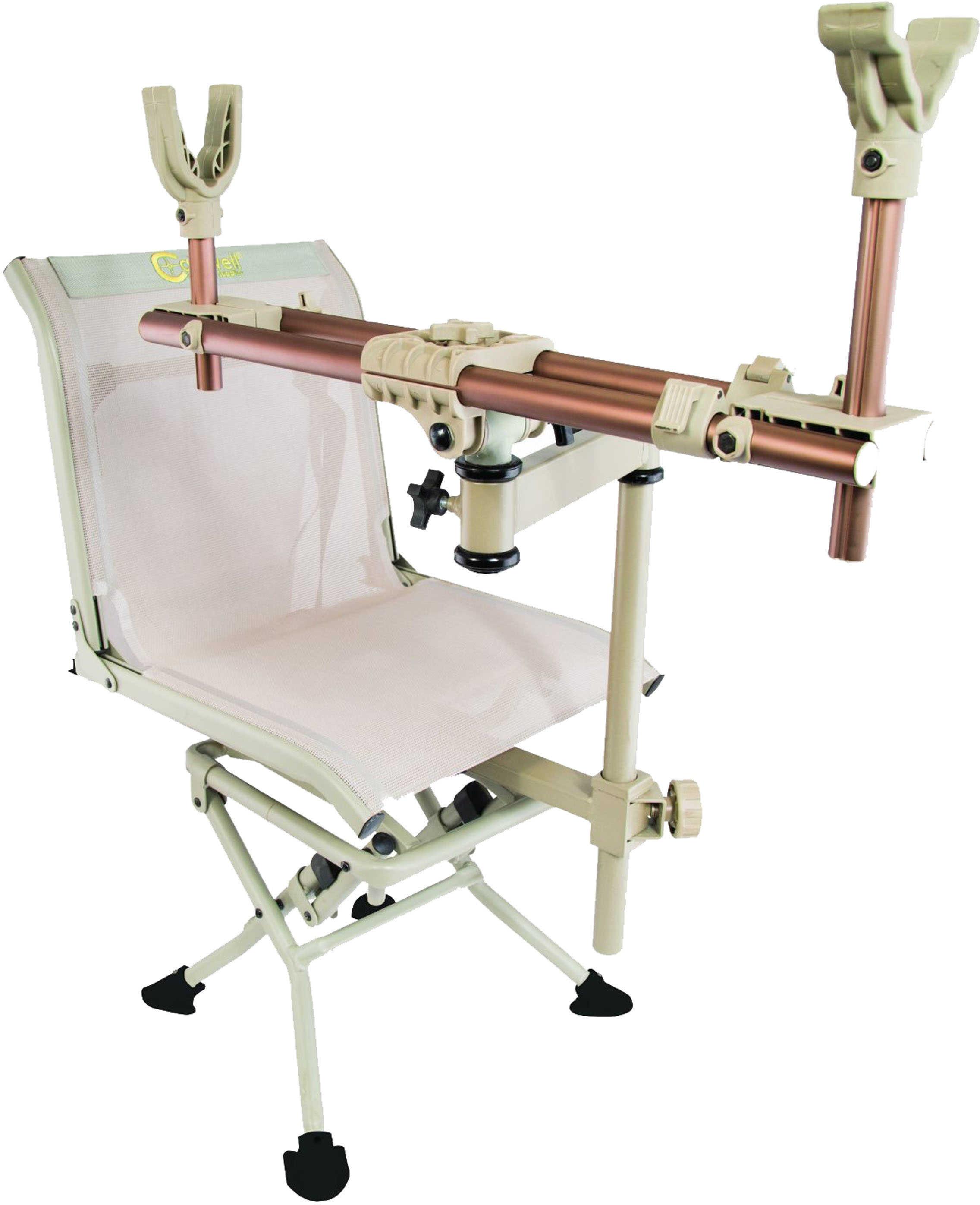 Caldwell Deadshot Chair Benchrest Chair Tan 795234