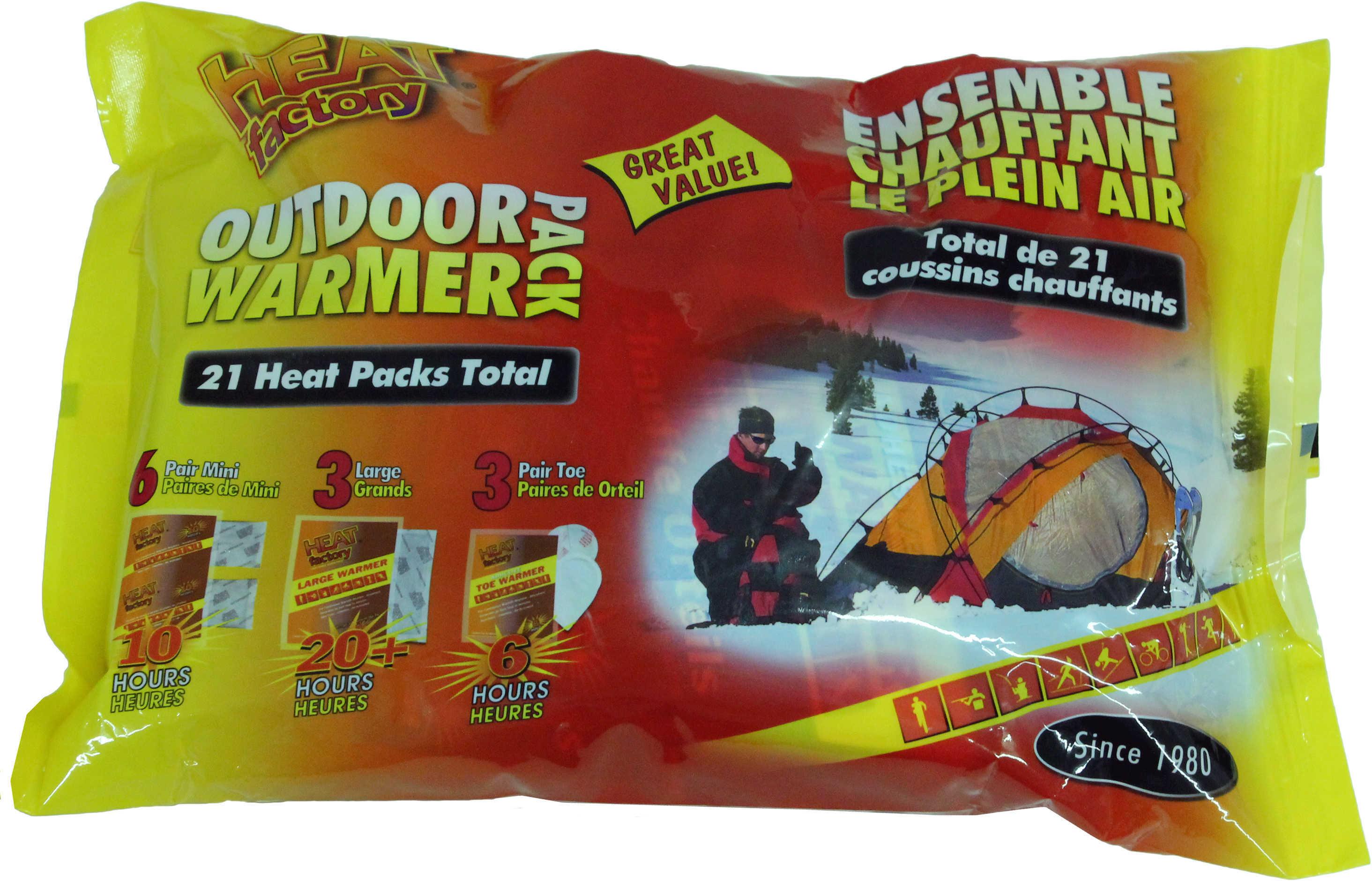 Heat Factory Outdoor Bonus Pack Md: 1964-6