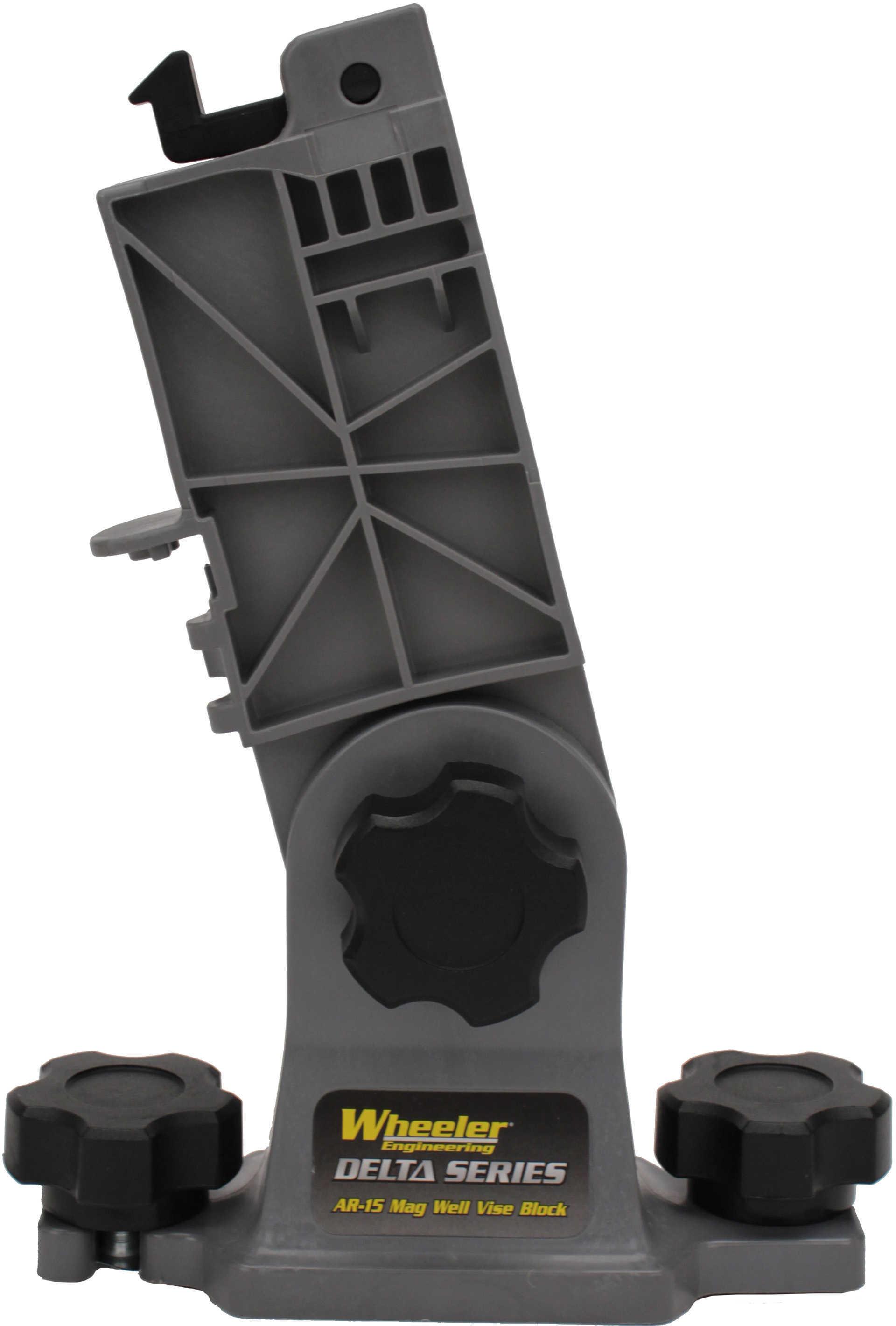 Wheeler Delta SER AR15 Mag Well Vise Block