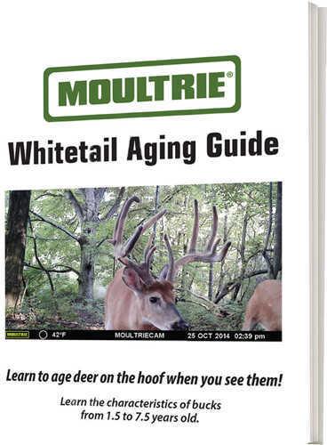 MoultrieMoultrie Feeders Deer Aging Guide Book Md: MCA-13132